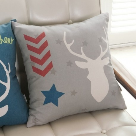 DTP Cushion Cover Grey (Foam Included)