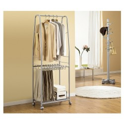 Living Star Clothes & Pants Moving Hanger - White