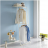 Korea Living Star 2 Tier Wall Clothes Hanger