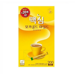 Maxim Mocha Gold Mild Coffee Mix 200pc