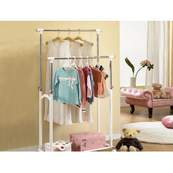 Korea Living Star Dual Rail Basket Moving Hanger LS-0759