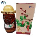 Korea Jeju Natural Omija 100% Pure Wild Raw Honey 0.8kg in Glass Bottle