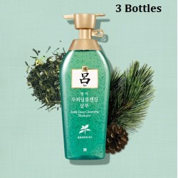 Korea Ryo Scalp Deep Cleansing Shampoo (3 Bottles) 500ml x 3