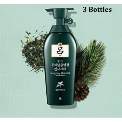 Korea Ryo Scalp Deep Cleansing Conditioner (3 Bottles) 500ml x 3