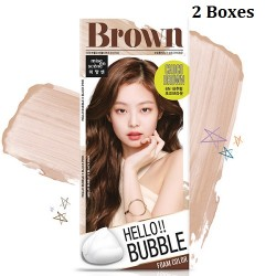 Korea Mise En Scene Hello Bubble 6N Choco Brown 30g x 2