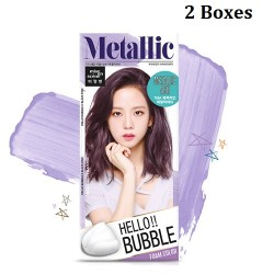 Korea Mise En Scene Hello Bubble 7MA Metallic Ash 30g x 2