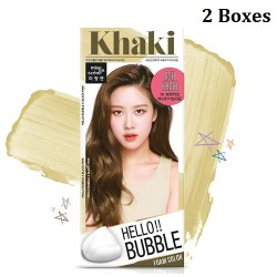 Korea Mise En Scene Hello Bubble 7K Ash Khaki Brown 30g x 2