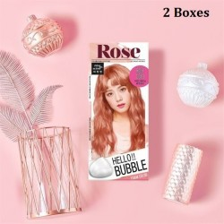 Korea Mise En Scene Hello Bubble Foam Color 11RG Rose Gold 30g x2