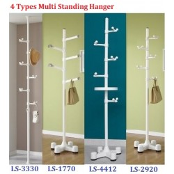 Korea Living Star Multi Stand Clothes Rack Standing Hanger/Coat Hanger