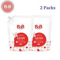 Korea B&B Baby Laundry Fabric Detergent Refill Pack 1800ml x 2